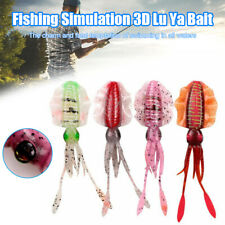 Fishing Lure Bait Squidy Accessories Tool 15.5cm 11g 3D Tackle Realistic