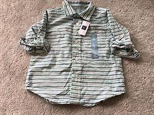 BNWT Gap Toddlers 2 Years 24 Months White Stripe T Shirt Summer Cotton New