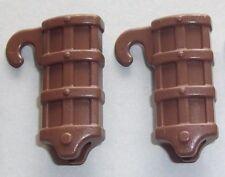 18846, 2x Schwert- Köcher (für Gürtel, Kragen, Gurt), braun