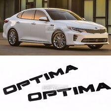 Side Front Trunk Mini Emblem Point Logo Badge Black for KIA 2016-2018 Optima K5