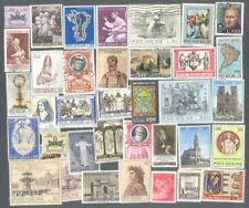 Vatican 300 all different stamp collection used & mint