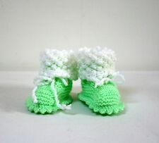 Chaussons vert pistache 0-6 mois
