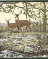 Nature/'s Plan Deer Border by York   BP8359BD Graceful Bucks and Does in Frames