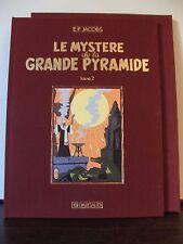 BLAKE & MORTIMER / JACOBS / MYSTÈRE DE GRANDE PYRAMIDE / TOME 2 / TIRAGE DE TÊTE