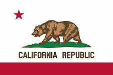 State Flag of California USA High Quality Metal Magnet 2.7 x 4 Fridge 9094