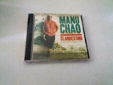 """MANU CHAO """"CLANDESTINO"""" CD 16 TRACKS COMO NUEVO"""