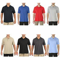 5.11 Tactical Men's Helios Short Sleeve Polo Shirt, Style 41192, Sizes Small-3XL