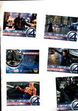 FANTASTIC FOUR MOVIE FULL SET 100 CARDS MARVEL ISSUE 2005 EX/MINT