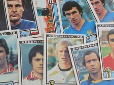 Panini Argentina 78 Stickers - Complete Your Collection