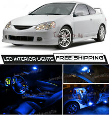 For 2002-2006 Acura RSX 10K Blue LED Interior Lights Package Kit Bulbs Lamp O5