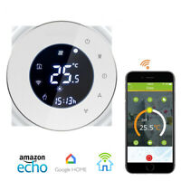 Smart WiFi Thermostat For Boiler Heating Touch Screen Programmable Dry Control