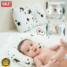Newborn Baby Cot Pillow Prevent Flat Head Positione Cushion Sleeping Support D5