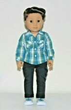 American Girl Doll Logan Everett Boy Limited Edition Outfit 2018 RETIRED EUC