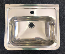 NEW - 3 Monkeez Stainless Steel Wall Mounted Hand Basin HB-1TH+HBB.