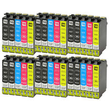 30 Ink Cartridges (Set + Bk) for Epson Workforce WF-2520NF WF-2630WF WF-2750DWF