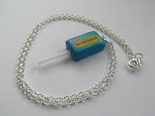 Fun Refreshers Lolly Lollipop Sweet Charm Chain Handmade - Novelty Necklace