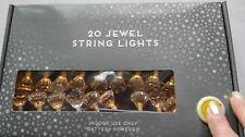 20 gioiello Diamante Stringa Luci Alimentato a Batteria Luci occasioni speciali