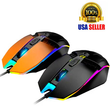 Gaming Mouse Raton For Gamer Optical Professional LED USB Wired for PC Laptop