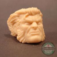 "ML244 Wolverine unmasked X-Men head sculpt use w/6"" Marvel Legends"