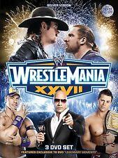 WWE Wrestlemania XXVII 27 Collectors Edition 3 DVDs orig WWF wrestling deutsch