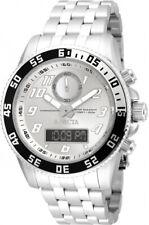 New Mens Invicta 15813 Pro Diver 50mm Stainless Steel Swiss Quartz Watch