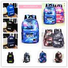 Boys Girls Galaxy Canvas Travel Rucksack/Backpack Leisure School Bag Shoulderbag