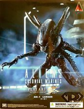 "LURKER Aliens Colonial Marines Play Arts Kai 9"" inch Figure #1 Square Enix 2014"