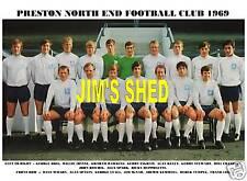 PRESTON NORTH END F.C.TEAM PRINT 1969