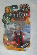 NIB THOR THUNDER CRUSADER The Mighty Avenger ACTION FIGURE Hammer MARVEL HASBRO