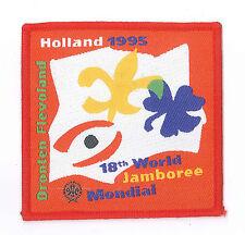 1995 World Scout Jamboree OFFICIAL PARTICIPANTS Patch