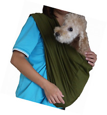Foldable Pet Dog Cat Carrier Sling Bag with Safety Leash