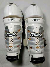 "Reebok Rbk 4K Pro Jofa 11"" Shin Knee Guards Pad Junior Ice Hockey"