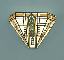 New Tiffany Lloyd Glass Wall Light shade and fitting
