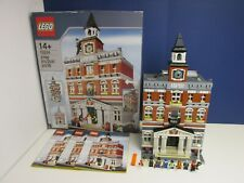 COMPLETE lego 10224 CREATOR EXPERT TOWN HALL MODULAR BUILDING set BOXED