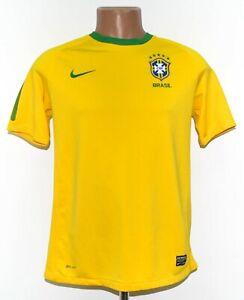 BRAZIL NATIONAL TEAM 2010/2011 HOME FOOTBALL SHIRT JERSEY NIKE SIZE YXL BOYS