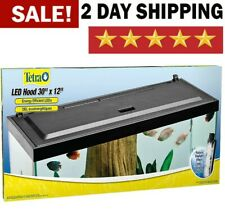 """New listing 30"""" x 12 Inches Led Aquarium Energy Efficient Hood Low Profile With Led Lights"""