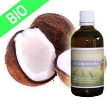 Huile de massage fine noix de coco certifiée BIO 100 ml douce et gourmande
