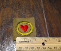 15981/ Vintage Boy Scouts of America Merit Badge ~ PERSONAL HEALTH ~ BSA