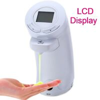 LCD Automatischer Sensor Seifenspender Flüssigseifenspender Spender Flüssigseife