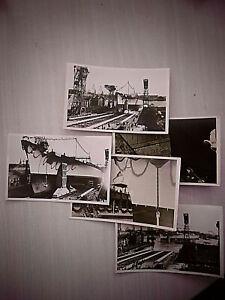 """5 alte original Fotos vom Stapellauf der """"Tirpitz"""" 1939 - Wilhelmshafen"""