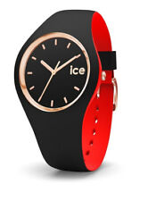 Ice Watch Uhr ICE loulou Black rosé Gold - Small  007226 Analog  Silikon Rot,Sch