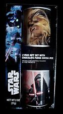 STAR WARS 2 MUG GIFT SET WITH HOT COCOA MIX COLLECTABLES
