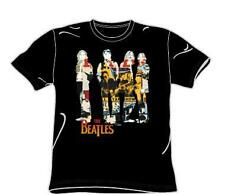 THE BEATLES Pop Rock Band FAB FOUR COLLAGE Unisex Adults COTTON T SHIRT M New