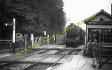 Driffield Railway Station Photo. Nafferton to Garton and Southburn. (5)