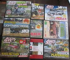 Australian 4WD Action Travel Jack Absalom Road to Survival Bulk Lot DVD