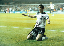 Gareth BALE Signed SPURS Autograph 16x12 Photo AFTAL COA AUTHENTIC