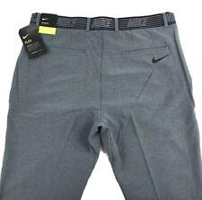 Nike Flex Slim Fit Golf Pants Gray 891887-032 Men's size 35 x 30 NEW