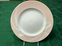"1 Mikasa classic flair peach fine porcelain dinner plate 11"" Japan Helena Uglow"