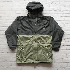 Vintage Helly Hansen Packable Parka Jacket Size M Two Tone Hooded 90s