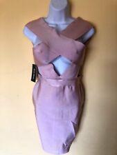 Cara Bandage Dress-Dusty Peach Poshshop Dress Size M NWT